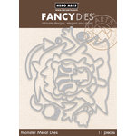Hero Arts - Fancy Dies - Nesting Monsters