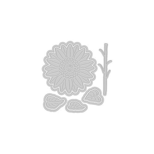 Hero Arts - Fancy Dies - Paper Layering Sunflower