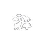 Hero Arts - Frame Cuts - Dies - Safari - Huge Thanks