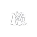 Hero Arts - Frame Cuts - Dies - Color Layering Rabbit