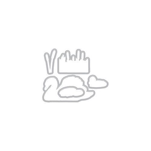 Hero Arts - Frame Cuts - Dies - Color Layering Swan