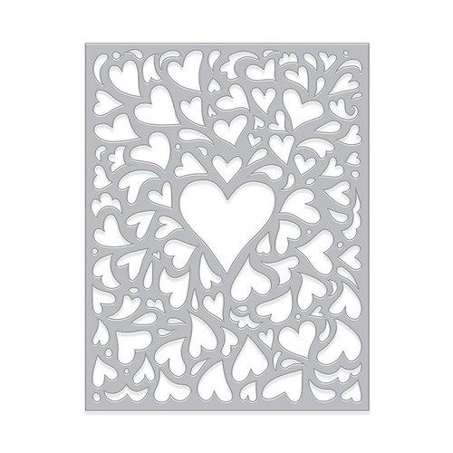 Hero Arts - Fancy Dies - Window On Love Confetti
