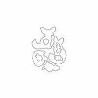 Hero Arts - Frame Cuts - Dies - Fennec The Fox