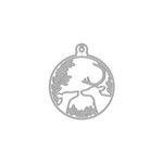 Hero Arts- Season of Wonder Collection - Fancy Dies - Deer and Ornament
