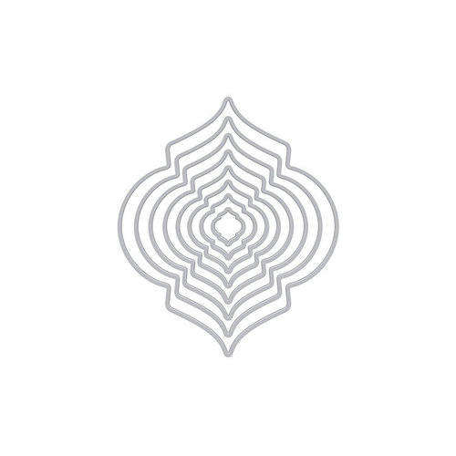 Hero Arts- Season of Wonder Collection - Infinity Dies - Fancy Ornaments