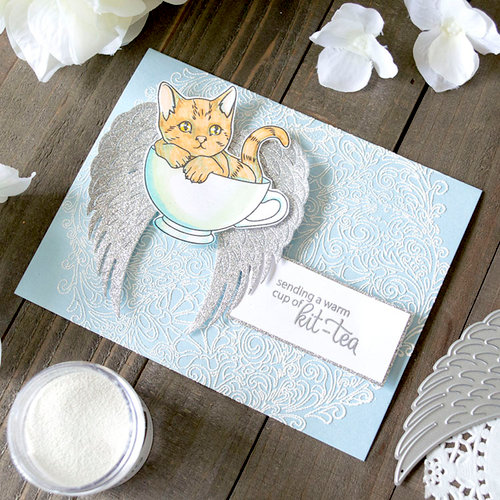 CROISSANT /& PASTRIEs  ~ COLOR LAYERiNG DIEs  by HERO ARTs Use with POSITIONeR TOOLs RETiRED