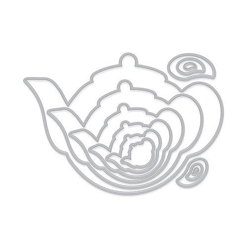 Hero Arts - Infinity Dies - Tea Pots and Handles