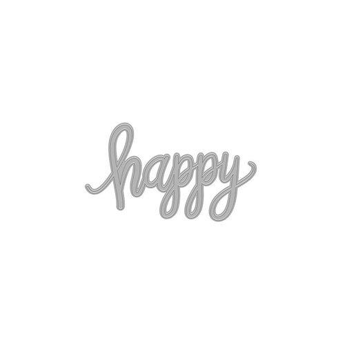 Hero Arts - Fancy Dies - Happy Message