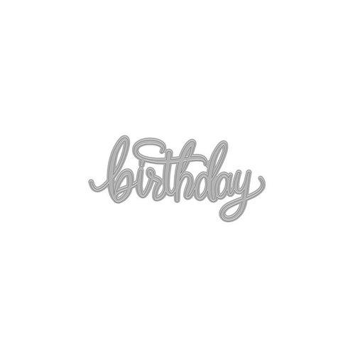 Hero Arts - Fancy Dies - Birthday Message