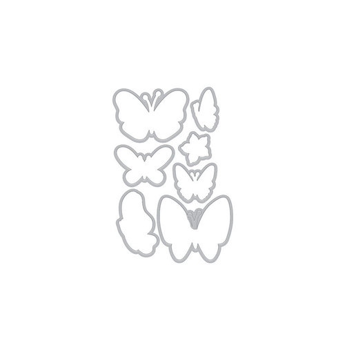Hero Arts - Frame Cuts - Dies - New Day Butterflies