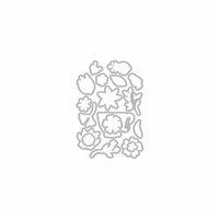Hero Arts - Frame Cuts - Dies - Teacup Flowers