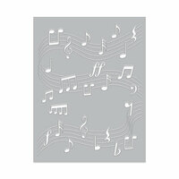 Hero Arts - Fancy Dies - Dancing Music Notes Confetti