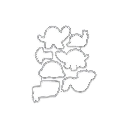 Hero Arts - Frame Cuts - Pet Turtle