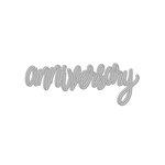 Hero Arts - Fancy Die - Anniversary