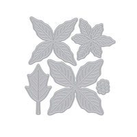 Hero Arts - Christmas - Frame Cuts - Dies - Paper Layering Poinsettia