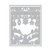 Hero Arts - Fancy Dies - Merry Christmas Cover Plate