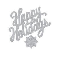 Hero Arts - Christmas - Fancy Dies - Holidays Message