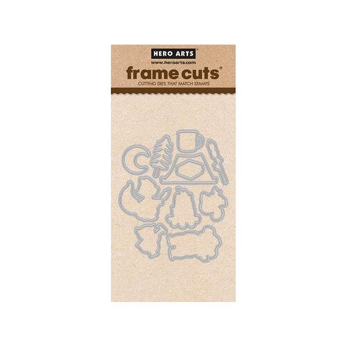 Hero Arts - Frame Cuts - Dies - S'mores Bonfire