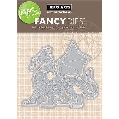 Hero Arts - Frame Cuts - Dies - Paper Layering Dragon