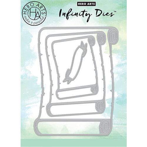 Hero Arts - Infinity Dies - Nesting - Scrolls Infinity Dies