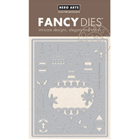 Hero Arts - Frame Cuts - Dies - Ornament Pieces Cover Plate