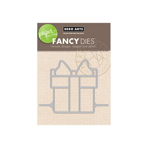 Hero Arts - Fancy Dies - Paper Layering Present Gift Card Pop-Up
