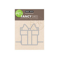 Hero Arts - Fancy Dies - Paper Layering Present Gift Card Pop-Up