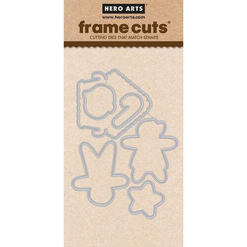 Hero Arts - Frame Cuts - Dies - Christmas Gingerbread Cookies
