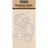 Hero Arts - Frame Cuts - Dies - Christmas Gingerbread Cookies