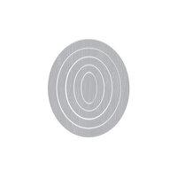 Hero Arts - Infinity Dies - Oval Woodgrain Frames