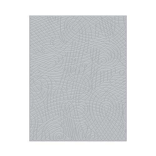 Hero Arts - Fancy Dies - Lines and Swirls Texture