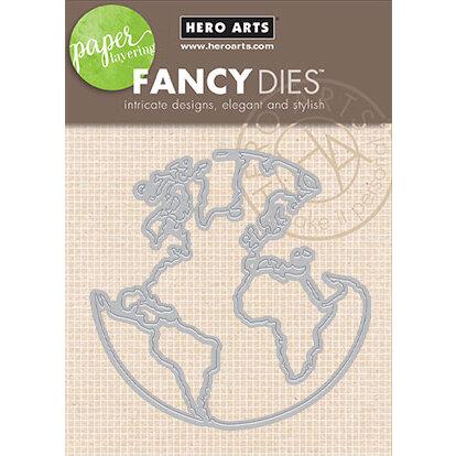 Hero Arts - Fancy Dies - World Window