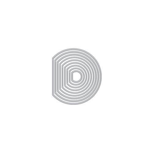 Hero Arts - Infinity Dies - Peek-A-Boo Doors - Mini Circles