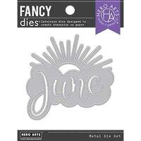 Hero Arts - Fancy Dies - June Word