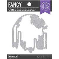 Hero Arts - Fancy Dies - Underwater Pillar Window