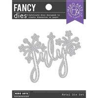 Hero Arts - Fancy Dies - July Word