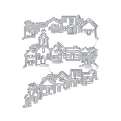 Hero Arts - Fancy Dies - Tri-fold Edge Village