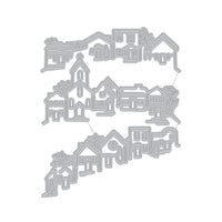 Hero Arts - Fancy Dies - Tri-fold Edge Village