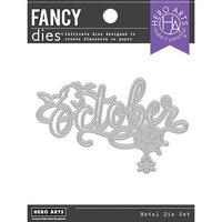 Hero Arts - Fancy Dies - October Word