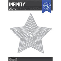 Hero Arts - Infinity Dies - 5-Point Stars