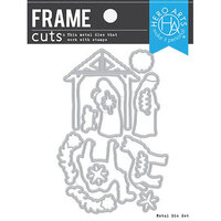 Hero Arts - Frame Cuts - Dies - Floral Nativity