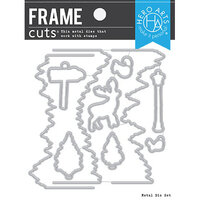 Hero Arts - Frame Cuts - Dies - Winter Woods HeroScape