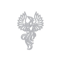 Hero Arts - Fancy Dies - Phoenix Bird