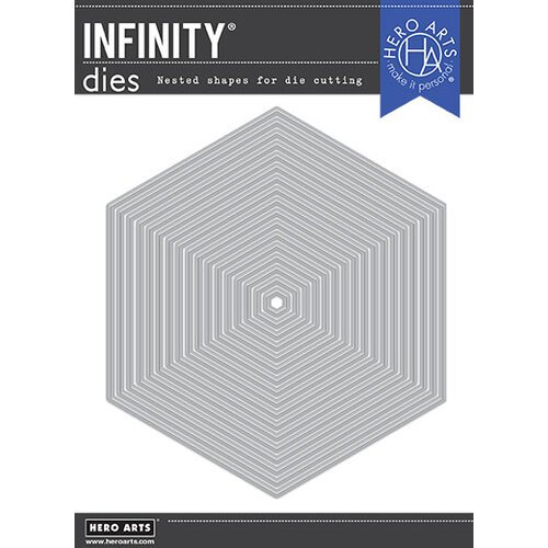 Hero Arts - Infinity Dies - Nesting Hexagon