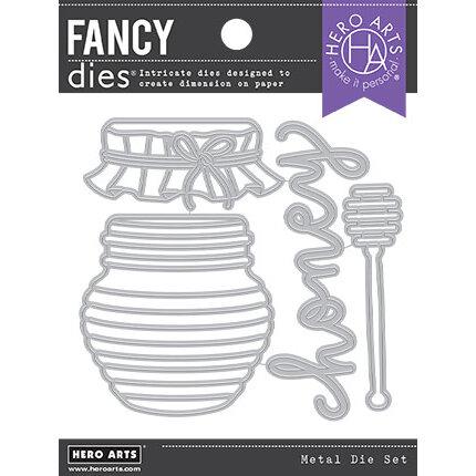 Hero Arts - Fancy Dies - Honey Pot
