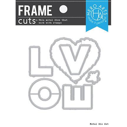 Hero Arts - Frame Cuts - Dies - Floral Love