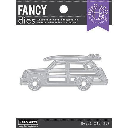 Hero Arts - Fancy Dies - Beach Car