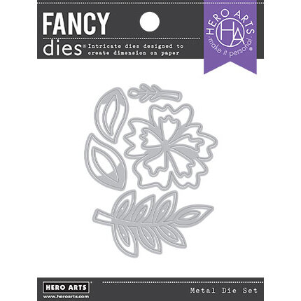 Hero Arts - Fancy Dies - Hibiscus
