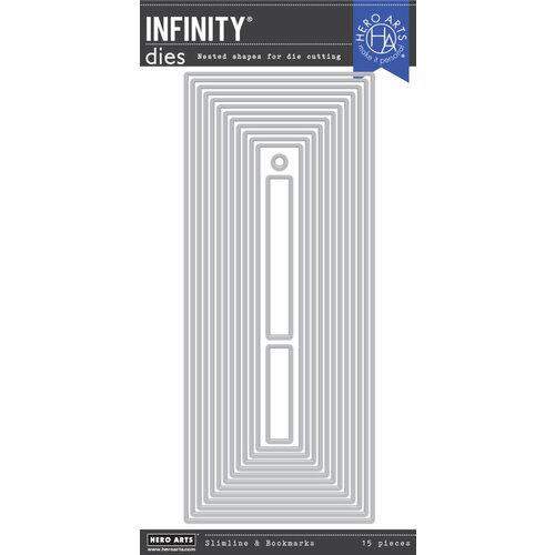 Hero Arts - Infinity Dies - Slimline - Nesting Bookmarks