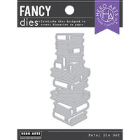 Hero Arts - Fancy Dies - Stacked Books